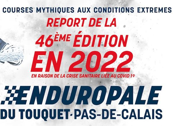 Annulation de l'Enduropale du Touquet 2021