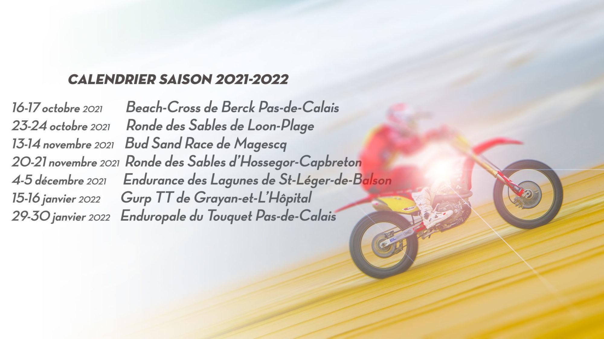 Le calendrier du CFS 2021-2022