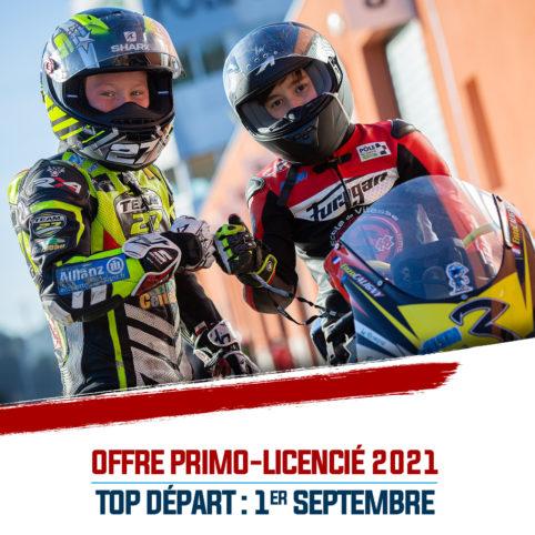OFFRE PRIMO-LICENCIÉ : TOP DÉPART LE 1er SEPTEMBRE PROCHAIN !